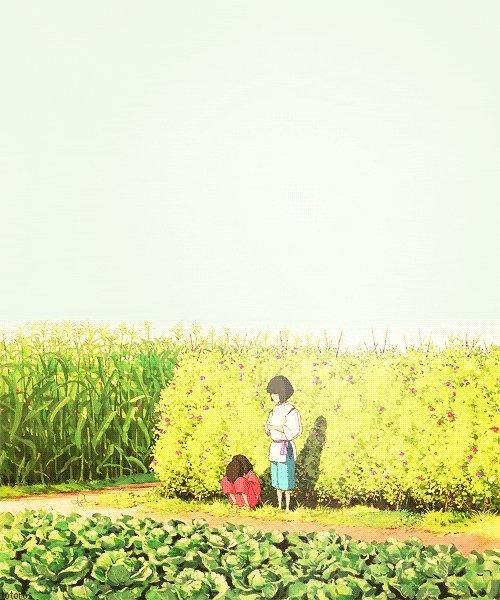 #AnimeGif  #Miyazaki  #Haku  #Sweet  #SpiritedAway  #GirlCrying