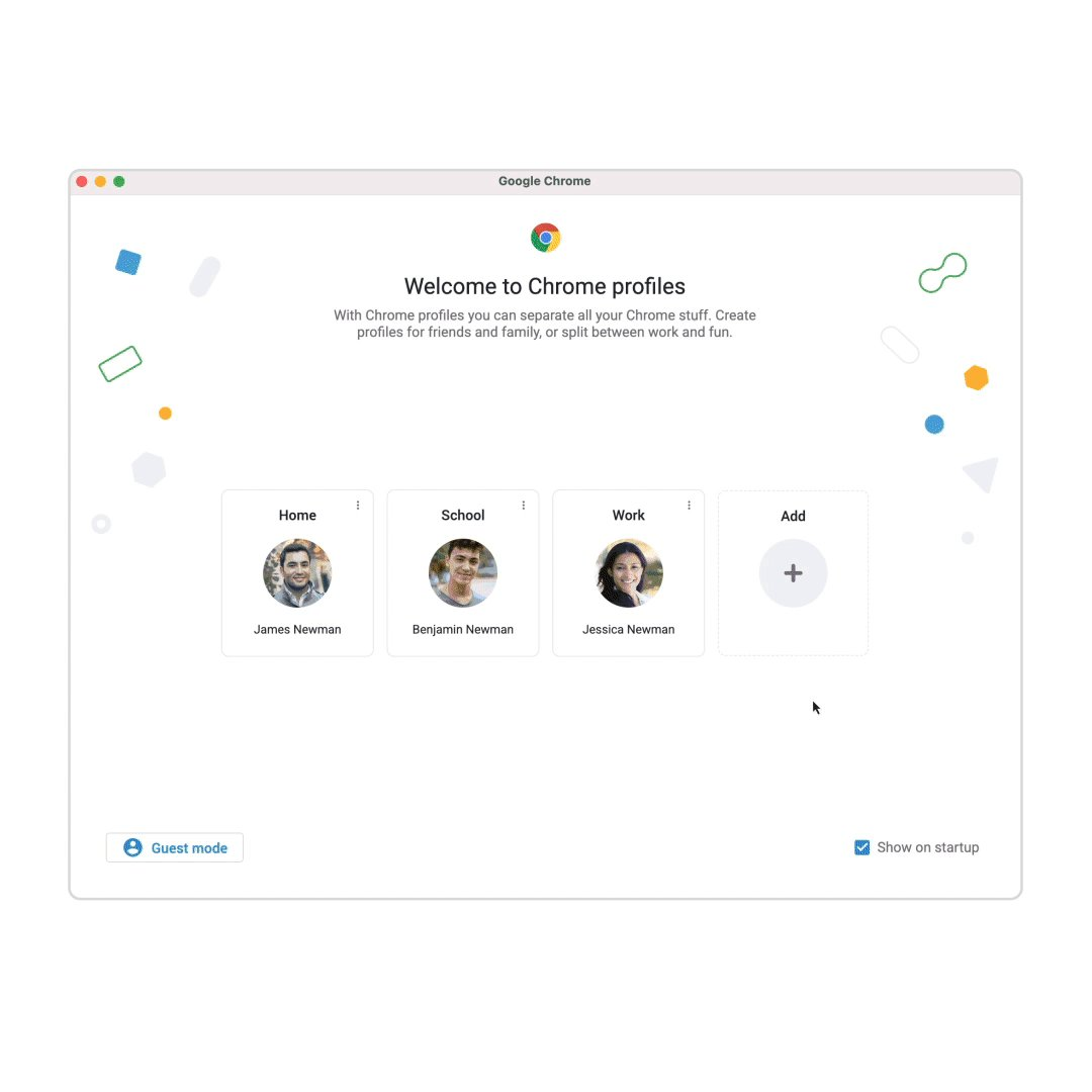 Switching between work and personal Chrome profiles, or sharing a computer with your family? Now @GoogleChrome is making it easier to keep all your profiles separate. Switch easily between profiles and find all your saved bookmarks, passwords and more →