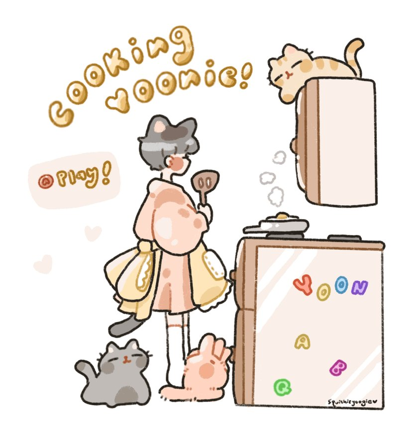 Replying to @squishieyoogie: Cooking yoongi!☁️ Press to play 🅰️