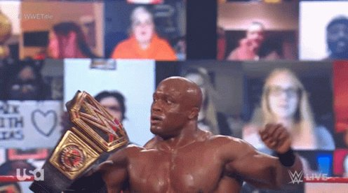 Replying to @Sheltyb803: Can I just say once again how awesome it is to see the CEO @fightbobby as the WWE  Champion