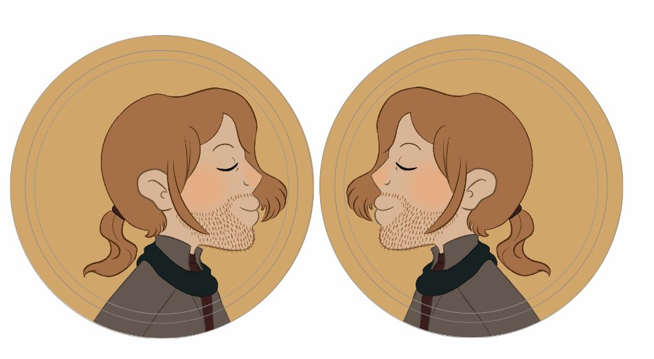 They're finally here! My #CriticalRole OTPins are done! You can pick your ship, and the pair of buttons make it look like they're kissing!   Samples and etsy link in thread!  #CriticaRoleFanart #CriticalRoleArt #beauyasha #widogast #shadowgast