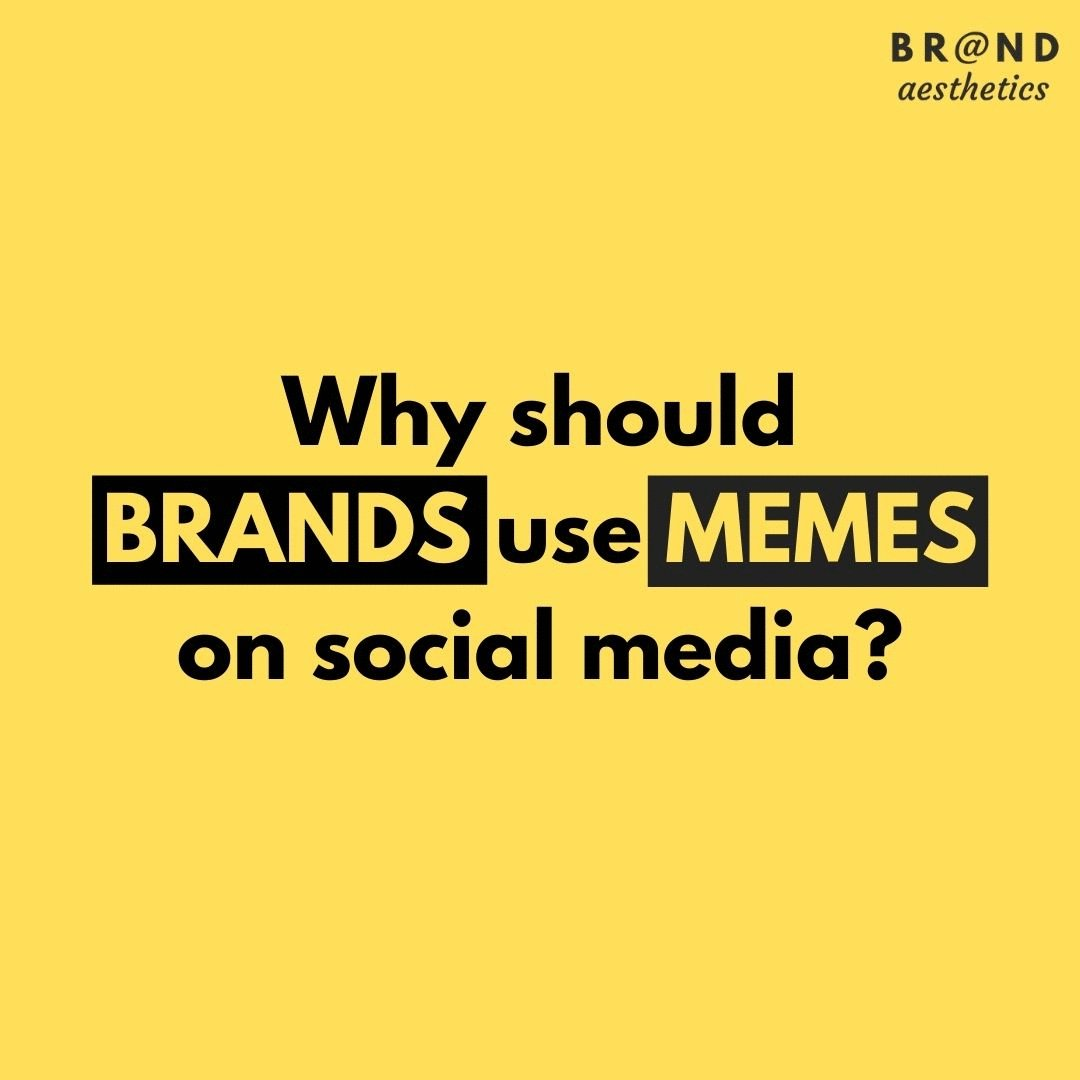 Memes are here to stay. Here's why you should try them. . . #Brandaesthetics #Mememarketing #Mememarketingdigital #Memes #Viral #Trending #Digitalmarketingtips #Indianmarketing