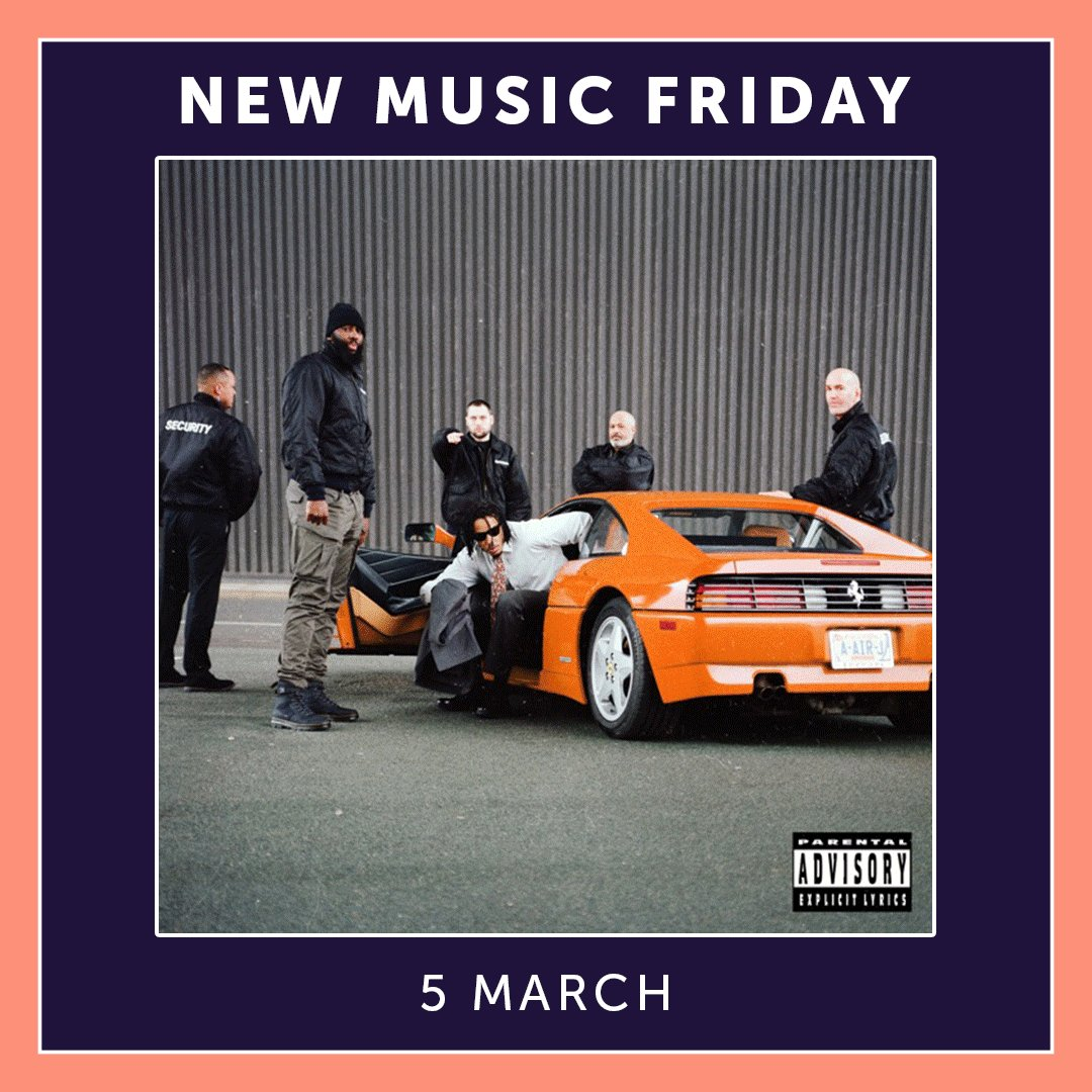 Who's ready for some new music? Here's a few tracks to add to your weekend playlist:  🎤 @ajtracey - 'Anxious' 💚 @justinbieber - #HoldOn 🌹 @zaralarsson - #PosterGirl 🎵 @Drake - 'What's Next' 🌪 @charli_xcx, @no_rome + @the1975 - 'Spinning'  #NewMusicFriday