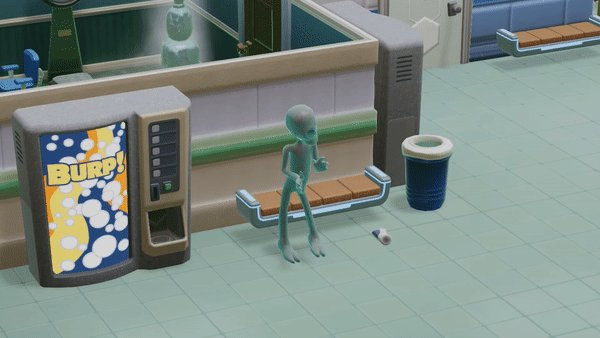 From 🌌 to 🏥. Defend your facility from extraterrestrials in Two Point Hospital: Jumbo Edition. More details on the massive hospital sim:  Out now on PS4