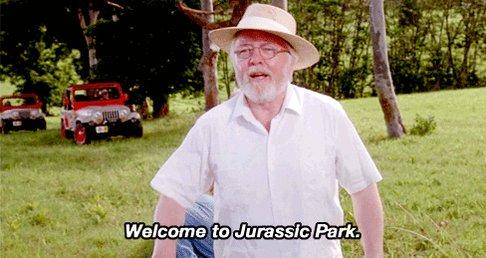 """#GodzillaNeverSaid """"Welcome To Jurassic Park!"""""""