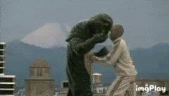 I'm gonna knock you out Mama said knock you out  #GodzillaNeverSaid