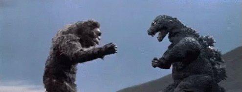 #GodzillaNeverSaid that he and #kingkong never met before