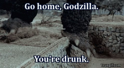 #GodzillaNeverSaid that he was 🥴