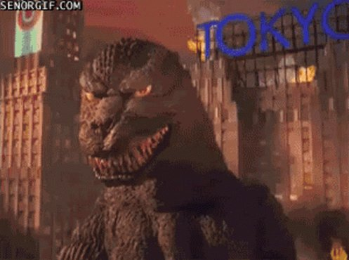 King Kong, Mothra, Gamera, and all the rest can suck my balls. #GodzillaNeverSaid @KaceyecaK @efoxband @FridayFondue