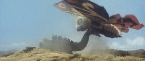 #GodzillaNeverSaid he 😵 before #mothra drags him out