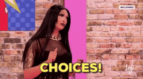 This @RuPaulsDragRace #SnatchGame tonight was insane. Truly, choices were made. #RuPaulsDragRace #DragRace