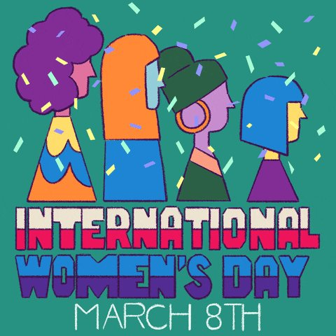 Just under the wire on the East Coast... but didn't want to let it pass without an acknowledgment! #InternationalWomensDay #etownpops