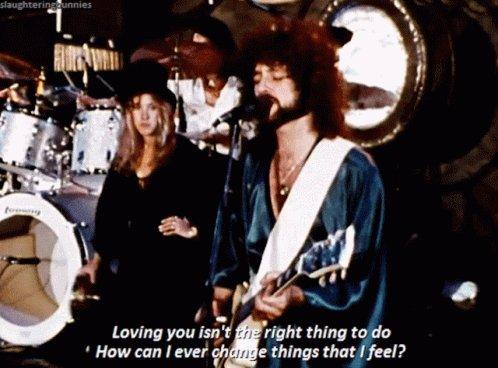 Fleetwood Mac Go Your Own Way GIF