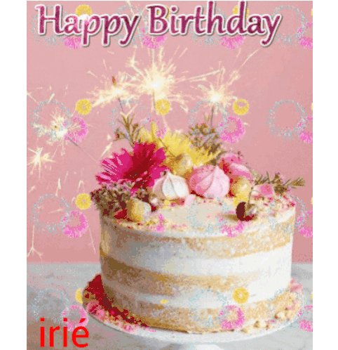 Happy birthday Hope the year ahead is as enterprising and colourful as you are!