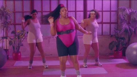 Working Out GIF by Lizzo