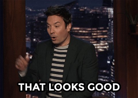 Looks Good Jimmy Fallon GIF by The Tonight Show Starring Jim
