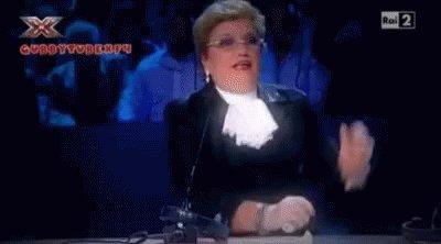 Mara Maionchi Judge GIF