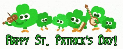 Image for the Tweet beginning: Happy Saint Patrick's Day to