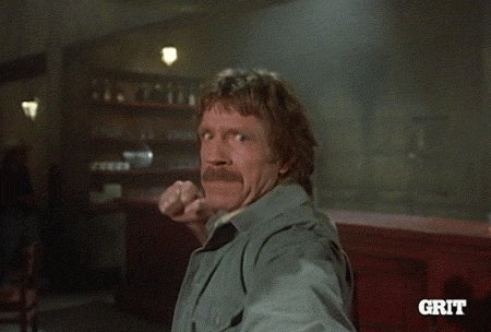 fight you chuck norris GIF by GritTV