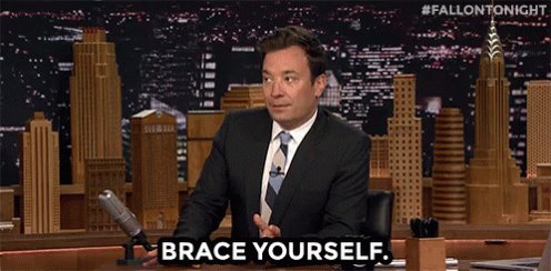 Jimmy Fallon Brace Yourself GIF