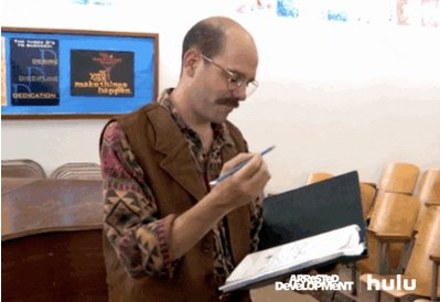 arrested development taking notes GIF by HULU