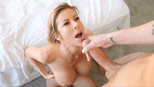 Busty milf alexis fawx blowjob tit fuck and facial pstar pornstar sex