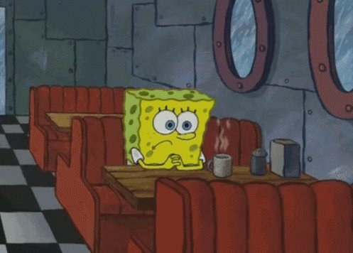 Spongebob Waiting GIF