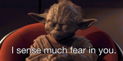 afraid the phantom menace GIF by Star Wars