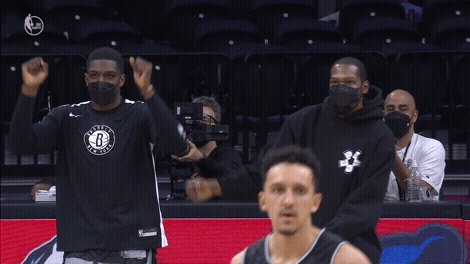 NETS MAKING IT A GAME 👀 https://t.co/auPdG1UjVb