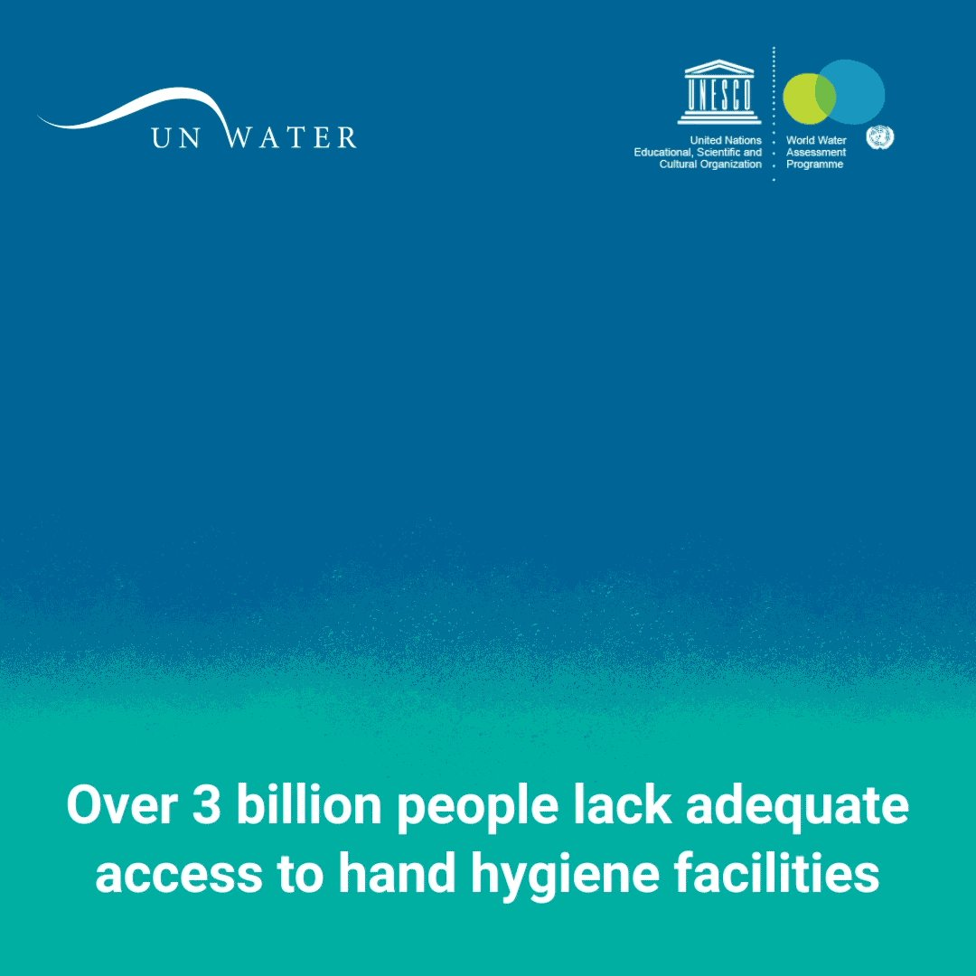 Clean water & good hygiene are the strongest defence against #COVID19.   Yet, 3 billion people live without basic hand-washing facilities at home.  UNESCO's World Water Development report explains how to make a difference:  https://t.co/86RYURuX2o #WWDR https://t.co/YdMDHsPoWK