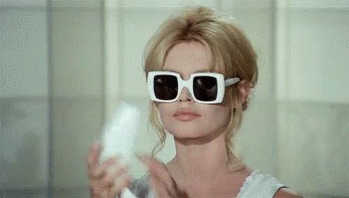 Brigitte Bardot Phone Call GIF
