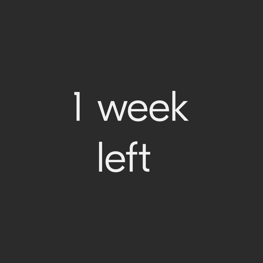 Image for the Tweet beginning: It's one week until #virtualdrupa