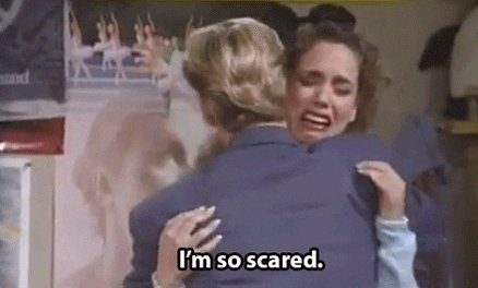 Scared Saved By The Bell GIF