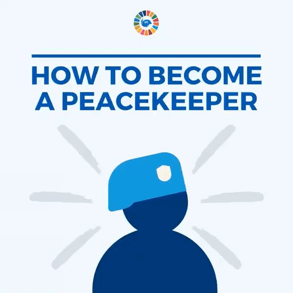 The women & men #ServingForPeace with @UNPeacekeeping come from all over the world and have a broad range of backgrounds, from military to civil affairs to public information.   Learn how YOU can become a peacekeeper: https://t.co/vSfmjHYFUD https://t.co/84B0HyFl6N