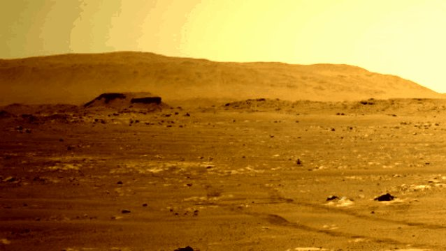 Sol 52: Navcam caught a dust devil. Do you see it? #Countdowntomars #Mars2020 https://t.co/kpIHh7HpgO
