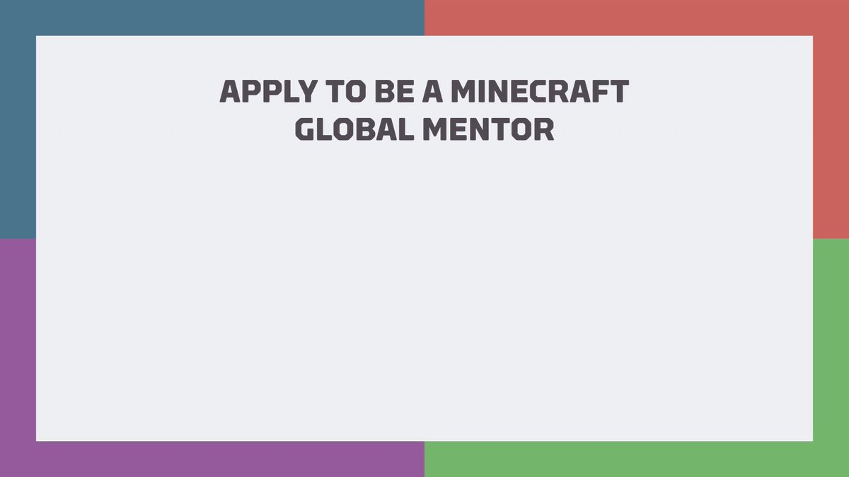 Amazing way to connect with teachers world wide that use Minecraft everyday in every way!