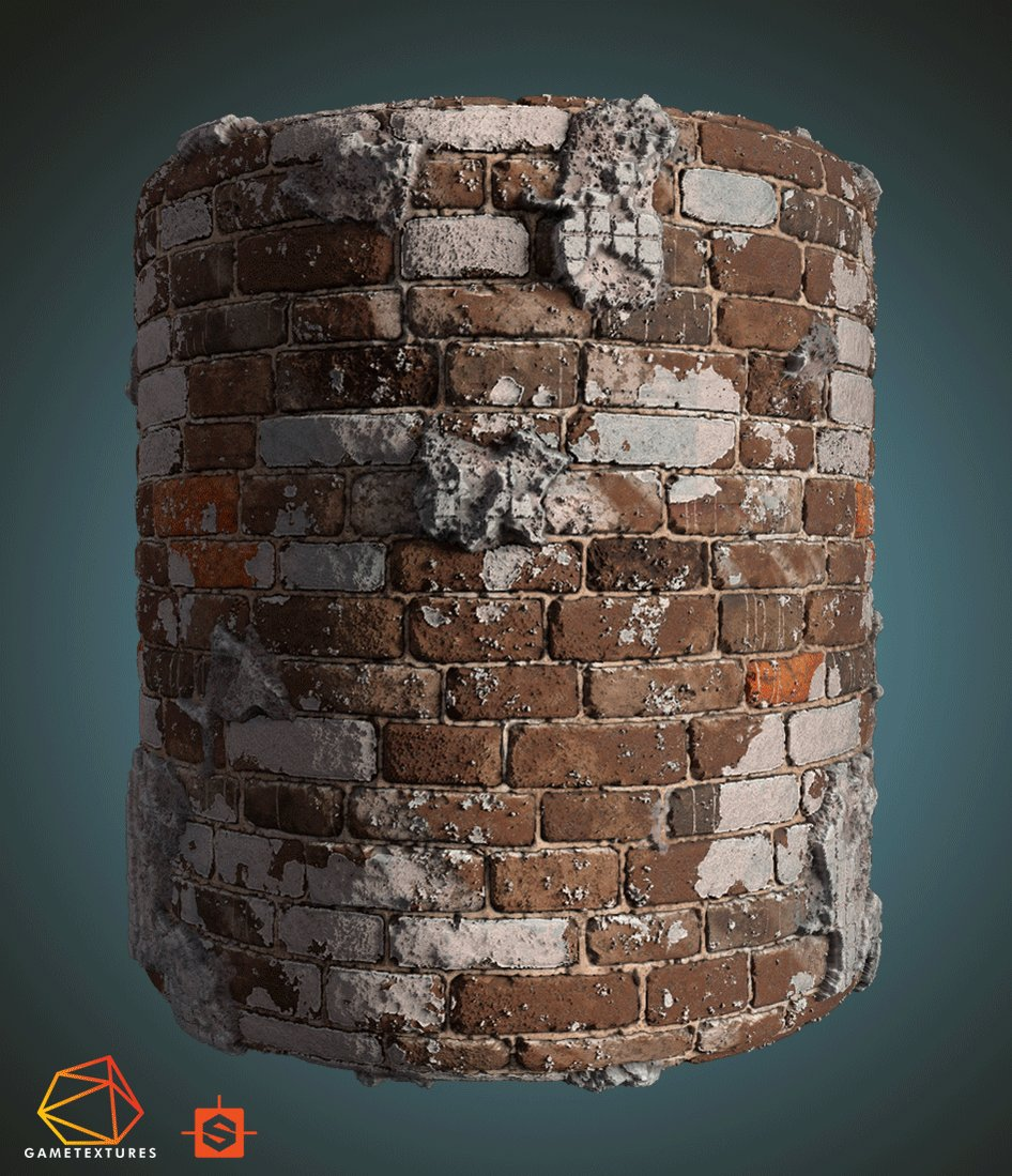 .@RosenKazlachev showed us how he created mortar-covered bricks in Substance Designer, discussed the workflow, and shared some advice on using the tool: 80.lv/articles/creat… #substancedesigner #substance3d #madewithsubstance #gamedev #indiedev #3dart #materials @Substance3D