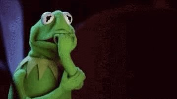 Worried Kermit GIF