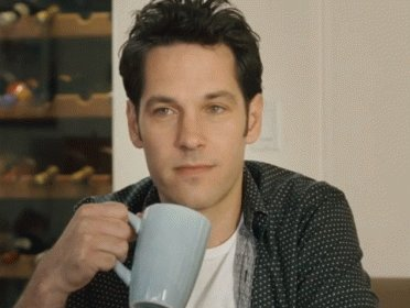 Good morning to Paul Rudd and only Paul Rudd.  Also, Happy Birthday you anti-aging beauty!!