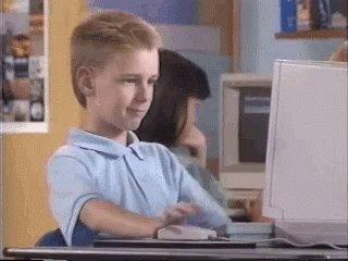 Computer Reaction GIF