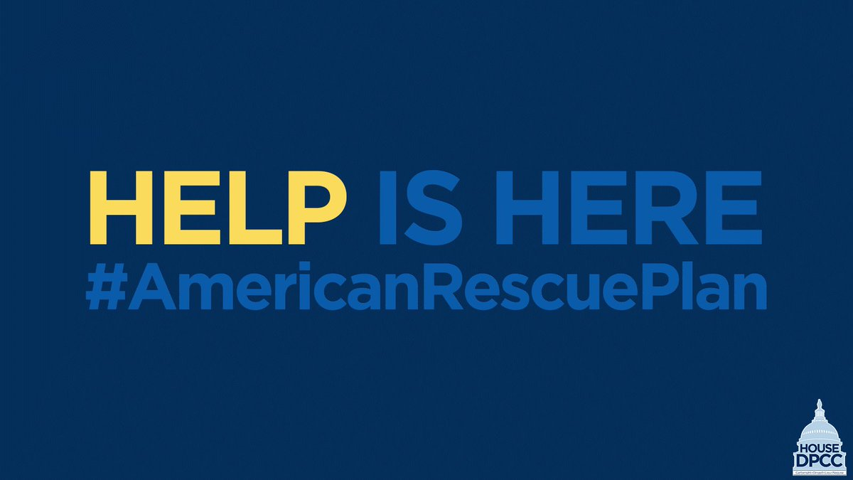 The #AmericanRescuePlan is getting shots in arms, money in pockets, children in schools, and people in jobs.   Join @HouseDemocrats on today's Day of Action to spread the word that #HelpIsHere to crush the virus & get our economy back on track.