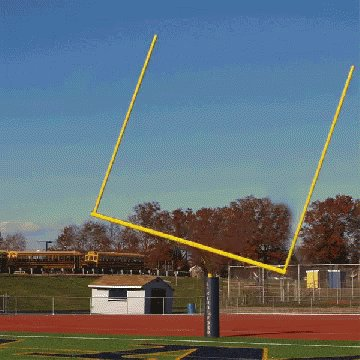 Goal Post Moving GIF