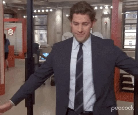 The Office Thank You GIF