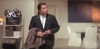 Confused John Travolta GIF