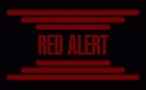 Red Alert Warning GIF