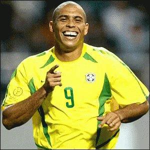 Ronaldo Futebol Brasileiro Brasil Jogo Jogador GIF