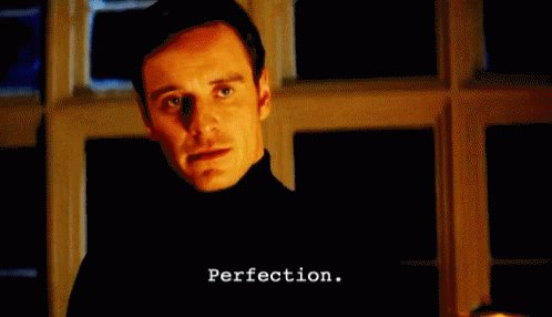 Perfection Michael Fassbender GIF