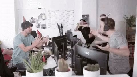Handofblood Office Party GIF