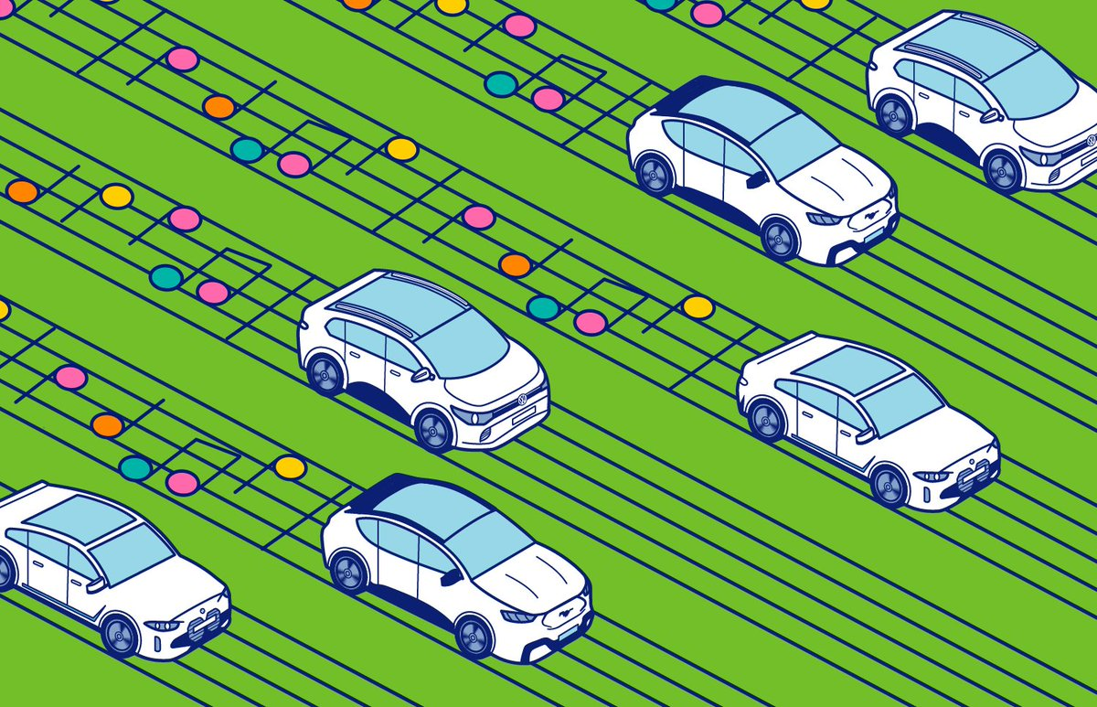 Electric cars can sound like anything. That's a huge opportunity to craft the soundscape of the future https://t.co/P4JyNTUmTE https://t.co/eBdPpOR1qm