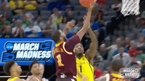 rejected jordan bell GIF by NCAA March Madness